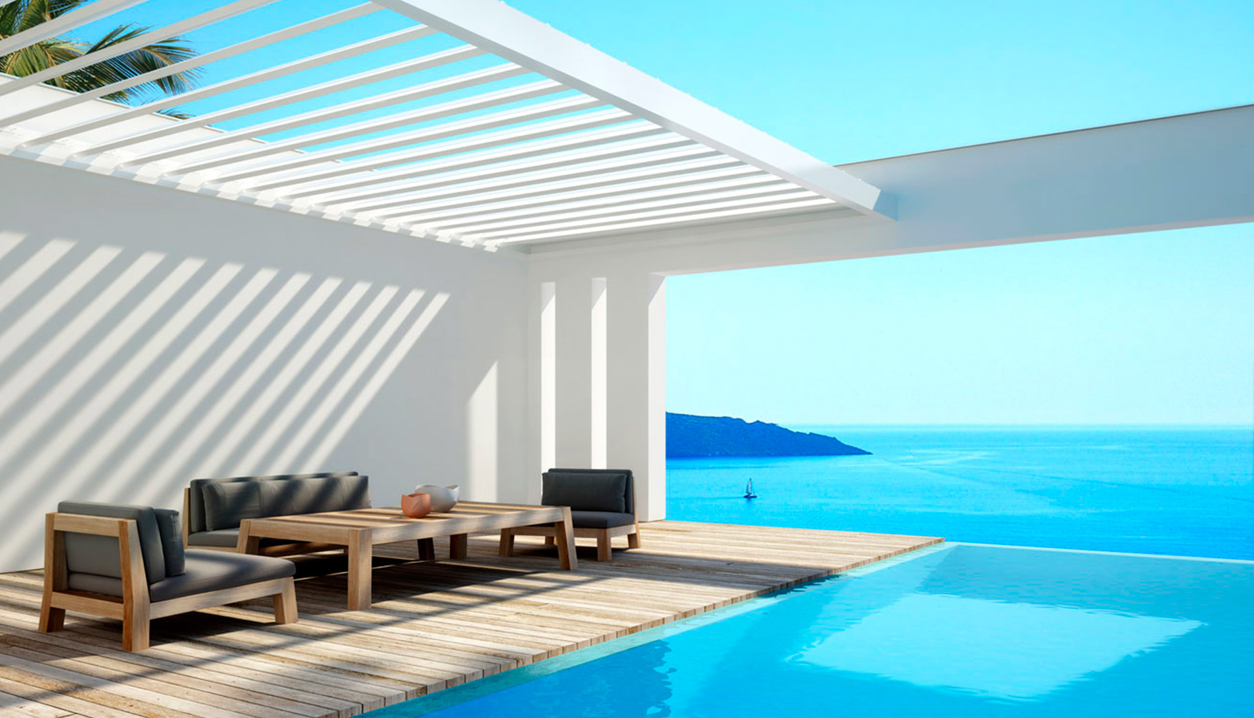 Pérgola Renson Algarve en Moreno Outdoor